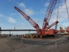 PPA Berth 3 maxer crane for existing deck removal